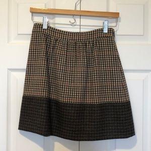 J. Crew A-Line Mini Skirt Size 0